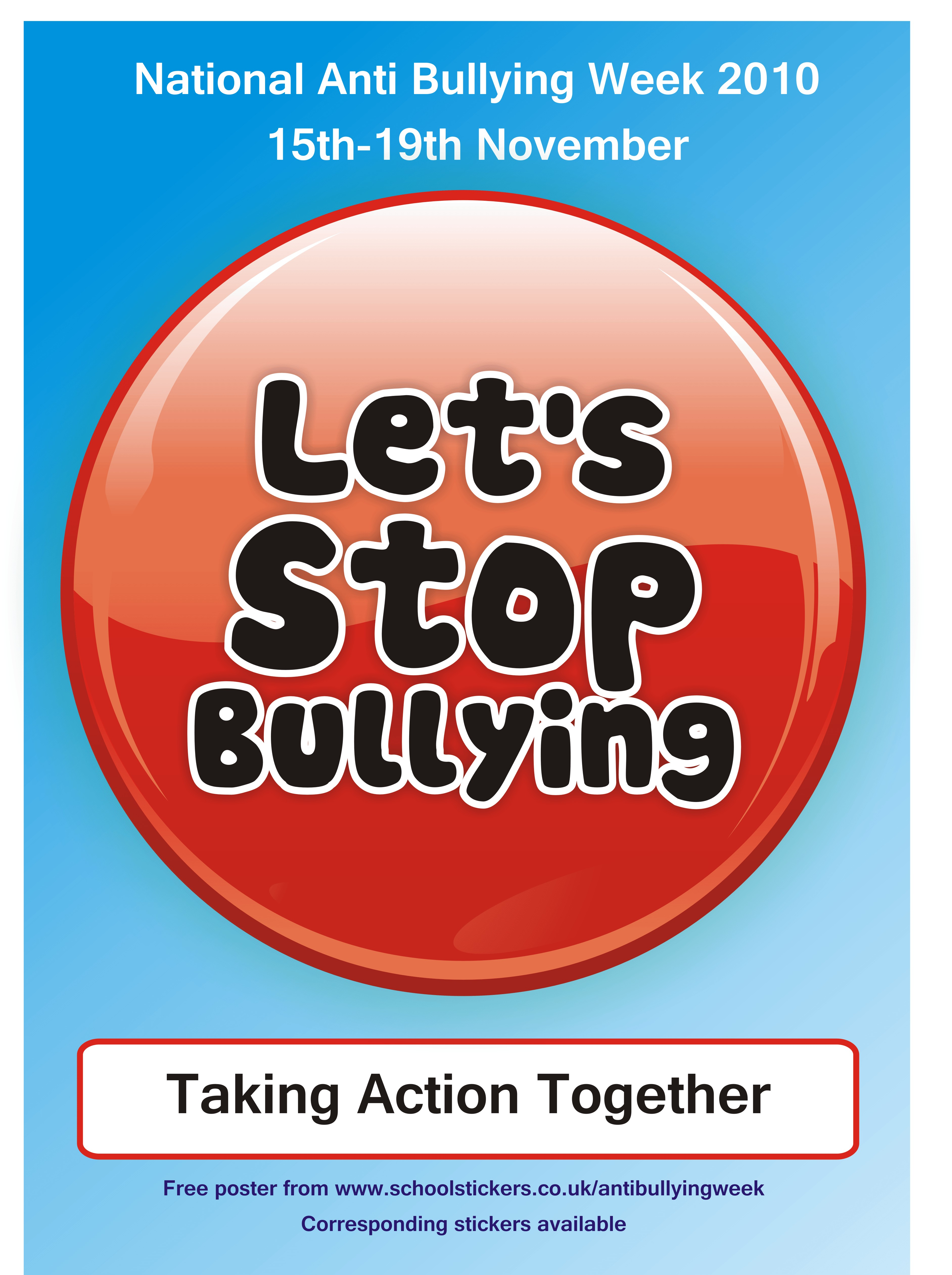 Anti Bullying Posters Images | TheCelebrityPix