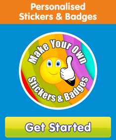 Design your own stickers and badges with the Sticker Maker