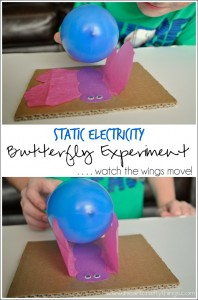 Static Electricity Butterfly Experiment
