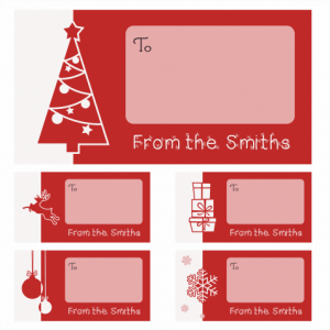 Christmas Gift Labels £3.90
