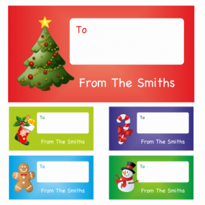 Character Gift Tags £3.90
