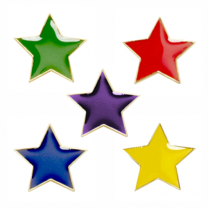 Our new star badges