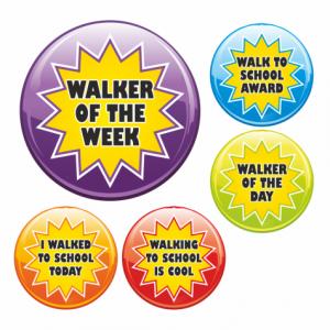 Starburst Walking Stickers