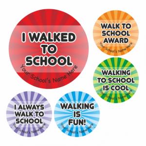 School Walking Stickers