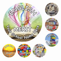 English Reward Stickers