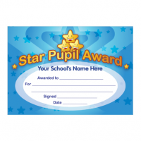 Star Pupil Certificate