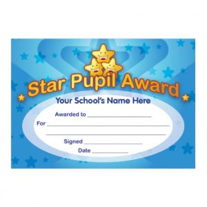 Star Pupil Certificate
