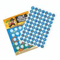 Pirate Reward Chart and Stickers £1.99