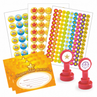 Stamps, stickers and certificates