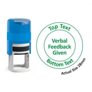 Verbal feedback given
