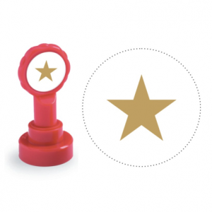 Xclamation Star Stamp