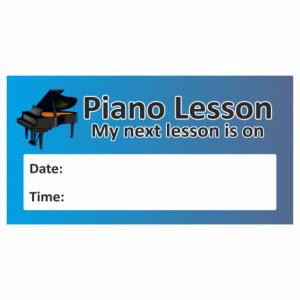 Piano Lesson Reminder Sticker
