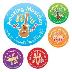 Amazing Musician Stickers