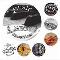 Music Snapshot Stickers