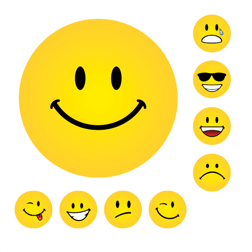 Top 5 Smiley Face Stickers From School Stickers Schoolstickers