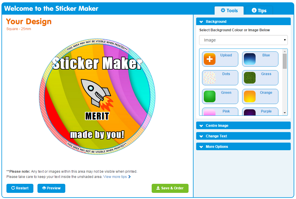 Teacher tip make your own stickers