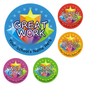 Great Work Stickers