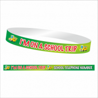 School Trip Wristband