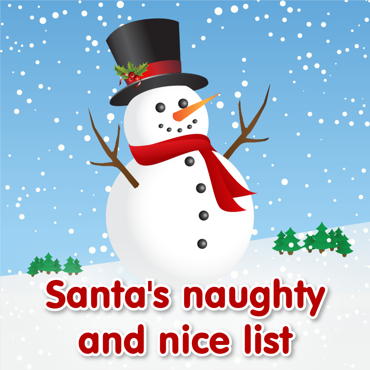 School Stickers Naughty and Nice List 2015! | SchoolStickers