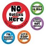 No bullies stickers