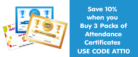 View All Attendance certificates