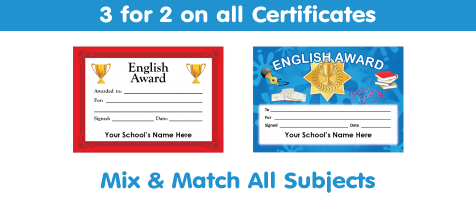 View All English Certificates