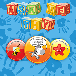 Get them talking about their achievements with our Ask Me Why Stickers