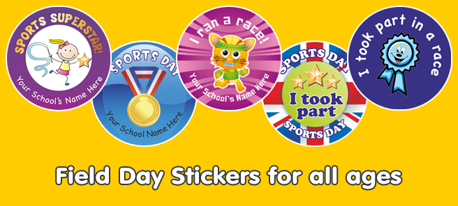 View All Field Day Stickers