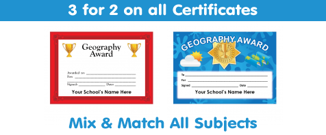 View All Geography Certificates