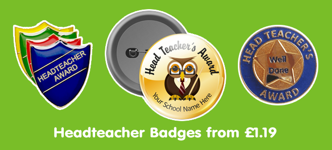 View All Headteacher Badges