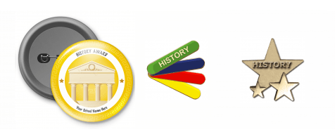 View All History Badges