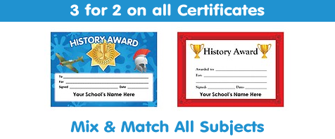View All History Certificates