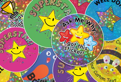 Shop Super Sparkly Stickers