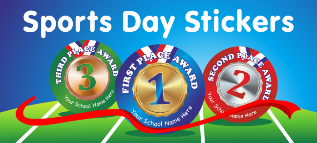Shop sports day stickers