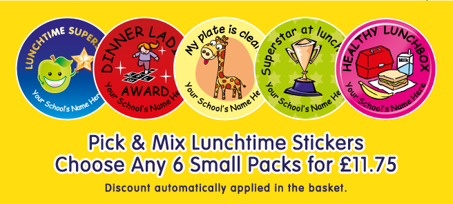 View All Lunchtime Stickers