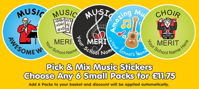 View All Music Stickers