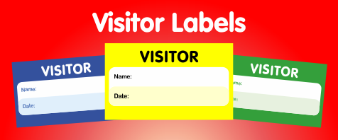 Shop All Visitor Stickers