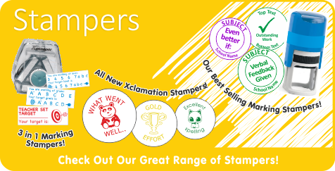 Check Out Our Great Range of Stampers!