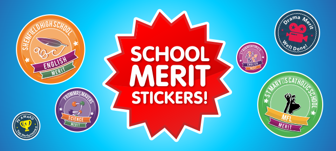 School Merit Stickers