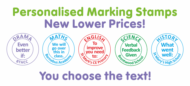Customise your own teaching stamp see all customised stampers