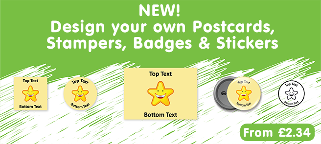 Create your own stickers and badges