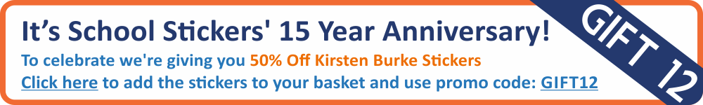 50% off Kirsten Burke Stickers - Today Only