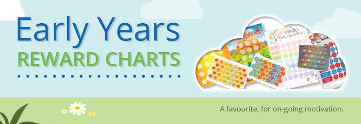 Early Years Reward Charts Banner