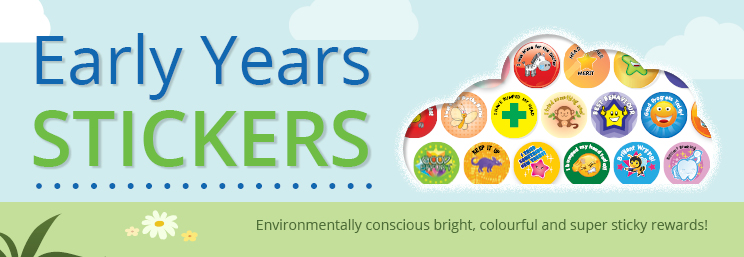 Early Years Stickers Banner