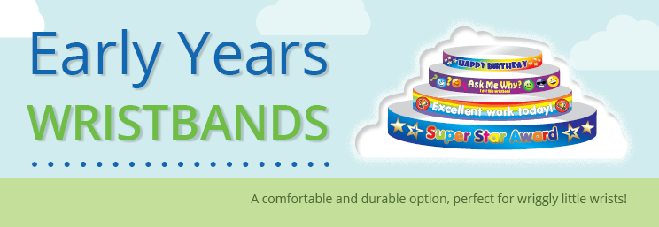 Early Years Wristbands Banner