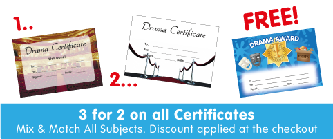 View All Drama Certificates