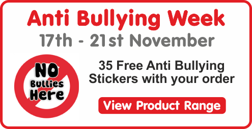 Anti Bullying Stickers & Badges